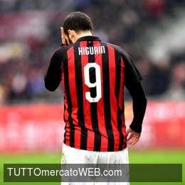 """Milan, addio Higuain. Corriere della Sera: """"Non pedalapiù"""""""